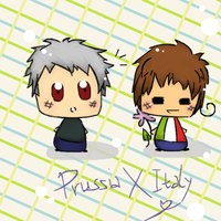 Prussia X Italy by Jetta-chan