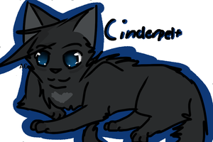 Cinderpelt~ by Aika-cat