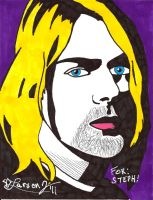 Commission: Kurt Cobain by LarsonJamesART