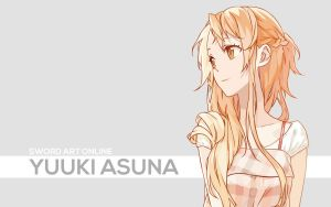Asuna Vector Wallpaper by AssassinWarrior