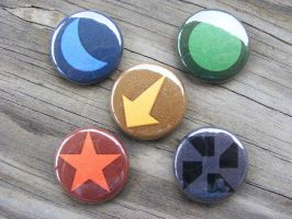 Advance Wars - Nation Buttons by CapsuleCorpButtons
