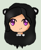 {FREE REQUEST} Pandii with her hair down by ExGamerChan