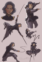 Lin doodles by samanthadoodles