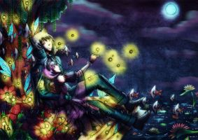 contest entry: Fireflies by Fortranica