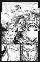 Wolverine Origins 34 p.9 by BillReinhold