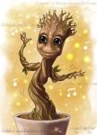 Baby Groot by Winged-warrior