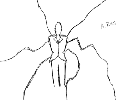 Slender Sketch by AmbiguousRes