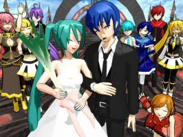 kaito and miku marriage by 10565karla