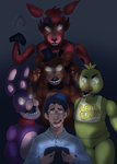 The king of Five Nights at Freddy's by syntheticanimals