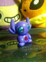Sableye Pokedoll Commission by MiloSculpt
