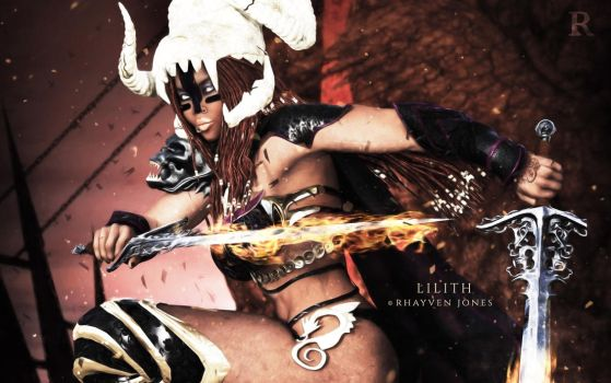 Lilith: The Darkness Arises by rhayvenc