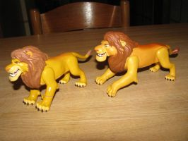 TLK collection: Roaring King Simba Prototype by kary218