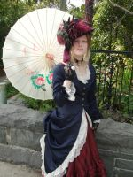 Victorian + parasol by Torenchiko-to