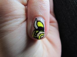 Vikings Nails Close Up 1 by QueenAliceOfAwesome