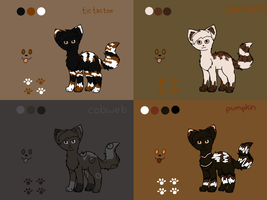 Extremely Late Halloween Adoptable Sheet by Adrakables