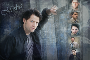 Misha Collins - WP by Vampiric-Time-Lord