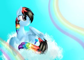 *AT* Rainbow Black by Alice4444DM