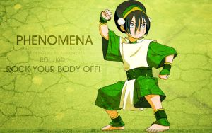 Toph Wallpaper: Phenomena by tea-junkyard