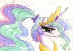 Princess Celestia's Pony Tail by PrettyPinkP0ny