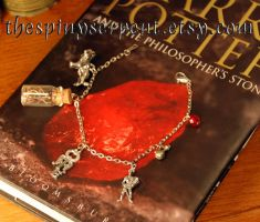 The Six Challenges - Charm Bracelet by kittykat01