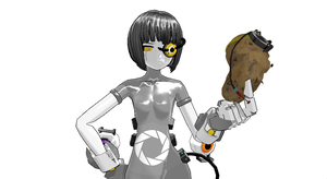 GLaDOS is Unamused by Aura-Pika