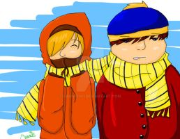 Your so Poor Kenny... two by sammie101