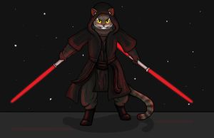 ''Sith'' Pounce A Lot (commission) by ambergerr