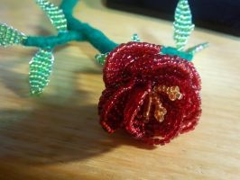Beaded flower by Umulu