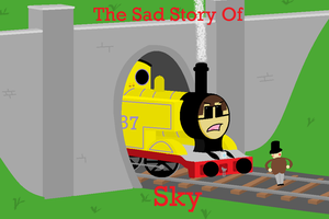 The Sad Story Of Sky (Poster) by TheAusterityEngine