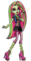 Venus McFlytrap-MH New Character by kesha18Anime17
