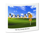 Tux Family Portrait by andrewmin