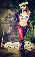 Insurgency Harley Quinn by Shermie-Cosplay