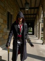 A Knife in the Dark (Jacob Frye cosplay) by TimeyWimey-007