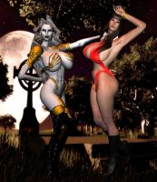 Ladies of the Night by Chup-at-Cabra