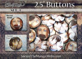 BUTTONS- Set 1 by SiSero