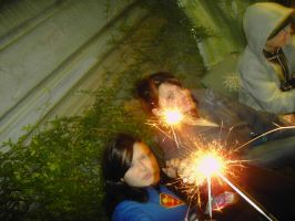 roxan+claire+sparklers by Din0saur