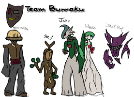 Nero - Team Bunraku by PaperFail