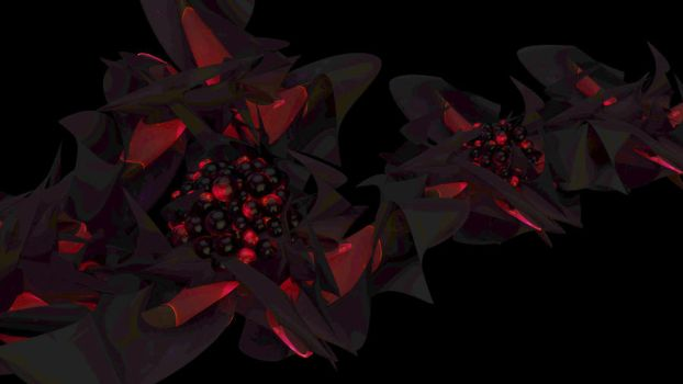 Abstract Test with Cinema 4d by harbingerinc