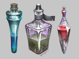 Those Potions by AugustinasRaginskis