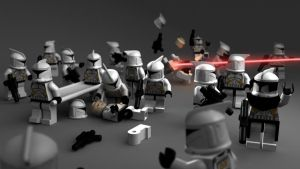 Lego Clones by Dominic-Marco