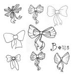 Bows Brushes by Red--Roses