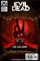 Evil Dead Cover for jogees by shoze