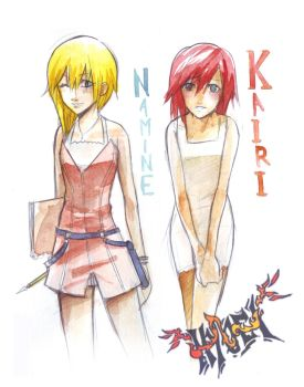 KxN: For_Kairi-namine-4ever by Hyuei