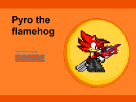 Pyro the flamehog by shadckie