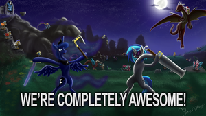 We're Completely Awesome - Community Captioned by StarDragon102
