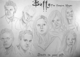 Buffy and the others by TheMovieJunkie