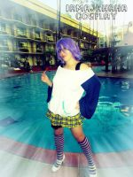 Mizore Shirayuki: Pool side by Iamajahaha