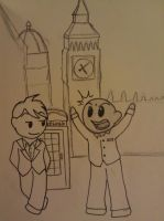 Niels and Duncan in London by Samara3D