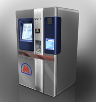 Ticket machine for Moscow Metro by sats182