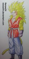 What if...? Vegetto Super Saiyan 4 -DBNGT- by Renow54